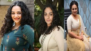 Nithya menon -- Cleavage, big assets, Hot Compilation -- Everything