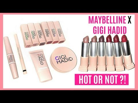 WHAT'S HOT? MAYBELLINE X GIGI HADID Tried & Tested Review || BB Cushion, Strobe Cream