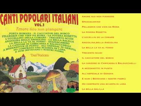 Canti Popolari Italiani Vol. 1