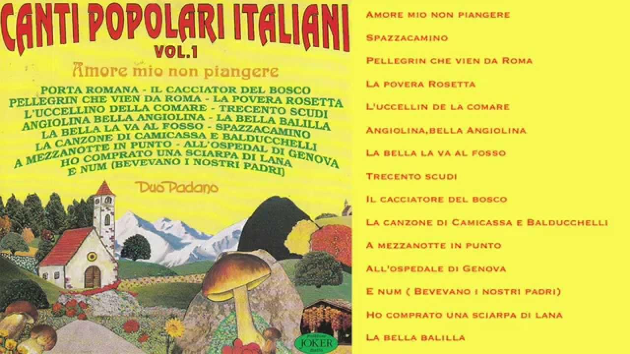 canzoni romane popolari