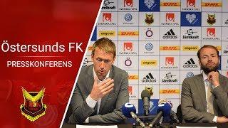 Presskonferens Östersunds FK - BK Häcken