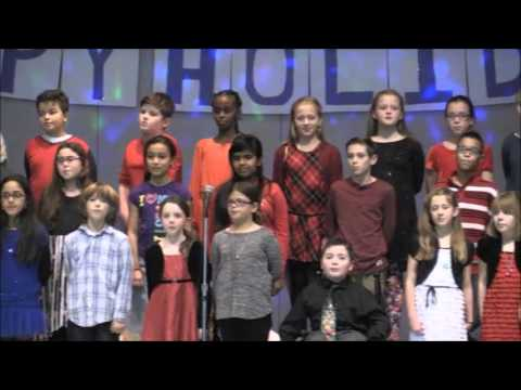 One Song - Shamrock Elementary School 4th Graders - Holiday Show 2015