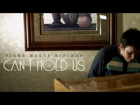 Piano Meets Hip-Hop: Can't Hold Us (piano Cover) By J.Wride (HD)