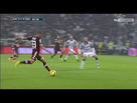 Bruno Peres Amazing Goal from Own Half vs Juventus 30.11.2014 (720P English Commentary)