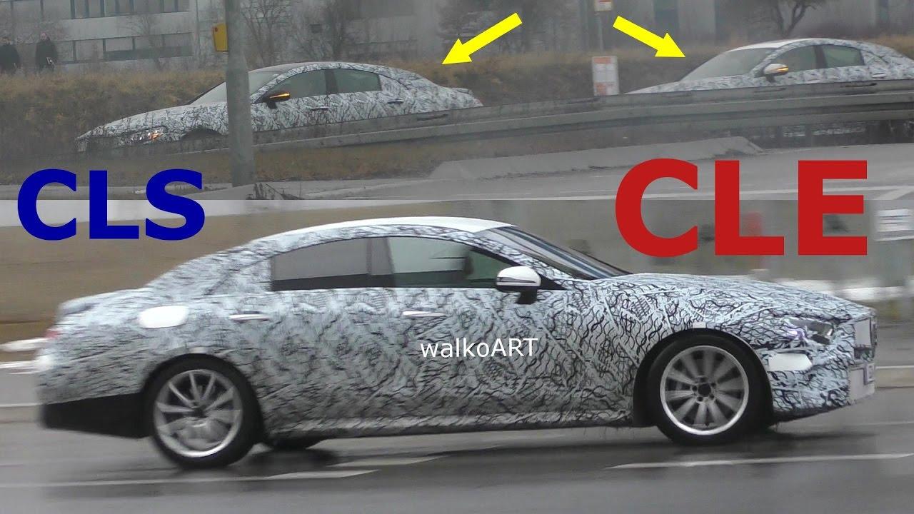 Mercedes erlk nig cle cls 2018 prototypes on the road for Mercedes benz bank login