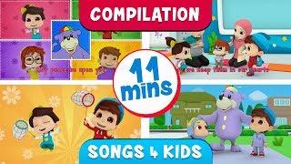 Zaky, Omar & Hana Four Song Compilation!