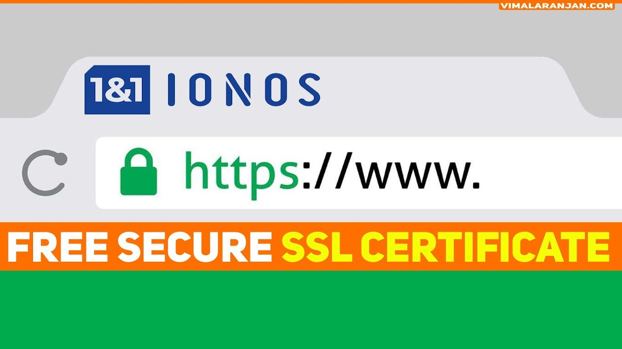 How to get SSL Certificate to 1and1 Hosted Website