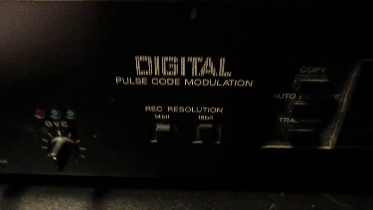 Digital Audio on Videotape?! The Sony PCM-501ES Digital Audio Processor  (circa 1984-88)