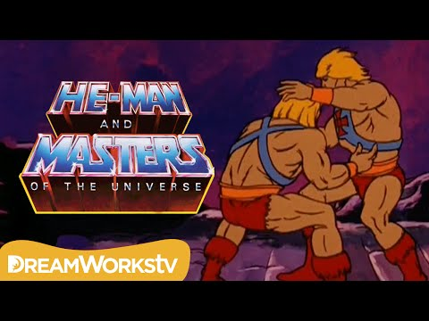 HeMan Fights an Evil Clone  HEMAN AND THE MASTERS OF THE UNIVERSE