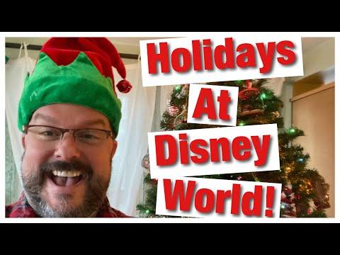 Joy Through The World, Celebrate The Holidays At Walt Disney World!