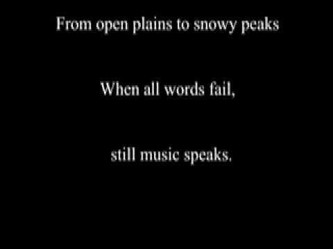 Music Speaks