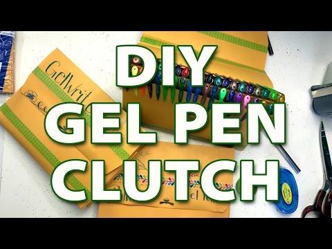 DIY Gel Pen Case