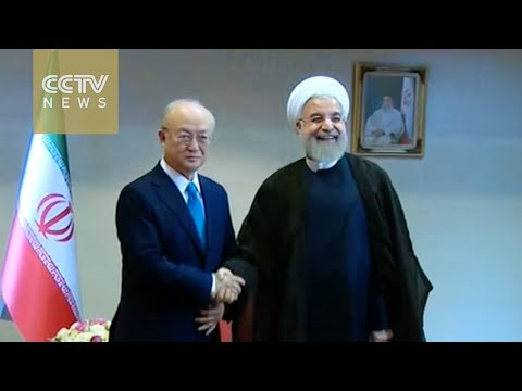 Iran president meets with IAEA director general