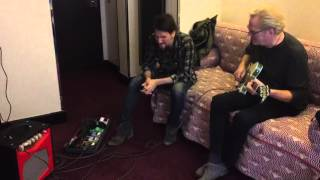 John Jorgenson & Ron Thal sur le French Cancan mini combo de Pigalle Amplification