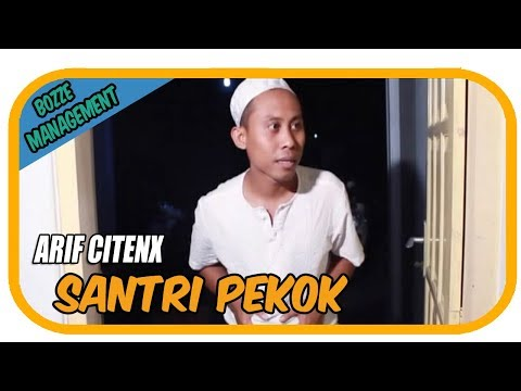SANTRI PEKOK - ARIF CITENX [ OFFICIAL KARAOKE MUSIC VIDEO ]