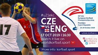 IKF U21 EKC 2019 CZE - ENG