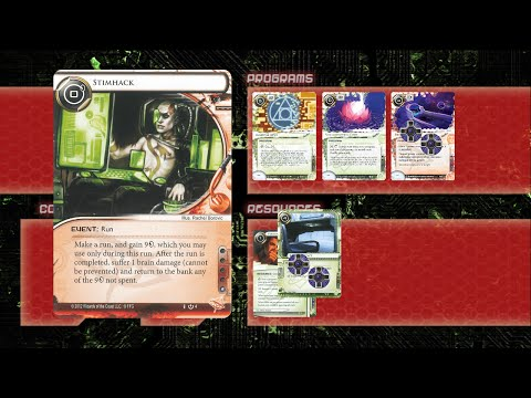 Android Netrunner Deck Overview - CT Big Rig Stimshop/Mopus (Chaos Theory)