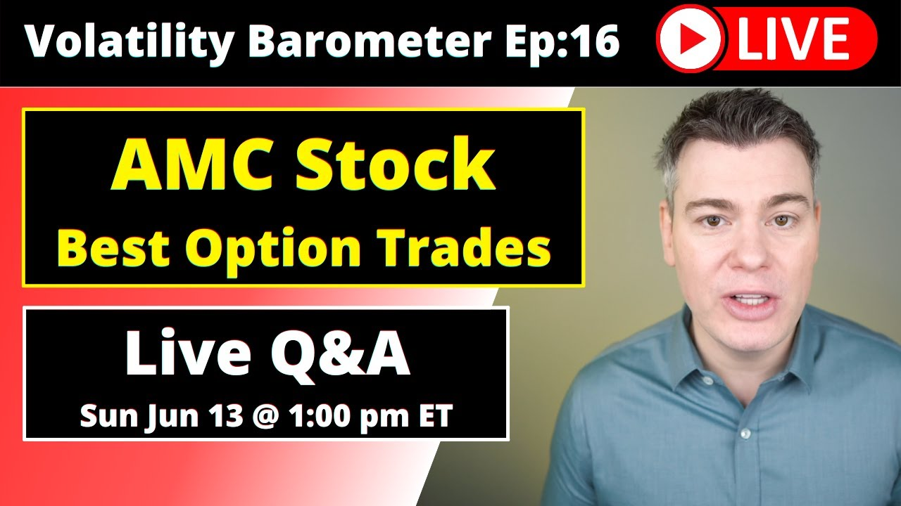 VTS Livestream #16)  The BEST Options Trades for AMC