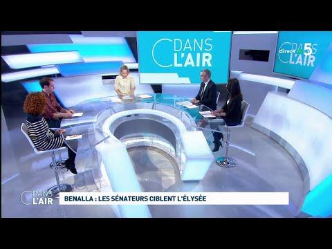 Benalla : les sénateurs ciblent l'Élysée #cdanslair 20.02.2019