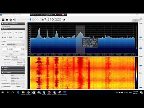 E-Skip 2017.06.04: Radio BR from Belarus received in Germany in 67.37 MHz FM