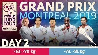 Judo Grand-Prix Montreal 2019: Day 2