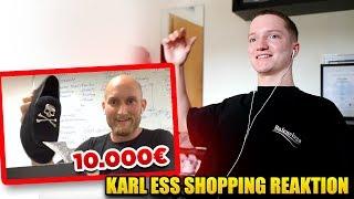 Karl Ess und sein Fashion Pack Opening.. 😂