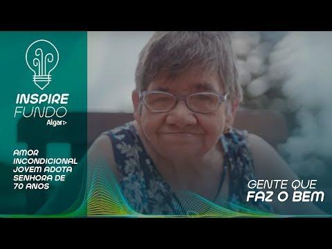 JOVEM ADOTA SENHORA DE 70 QUE MOROU 60 ANOS EM UM HOSPITAL
