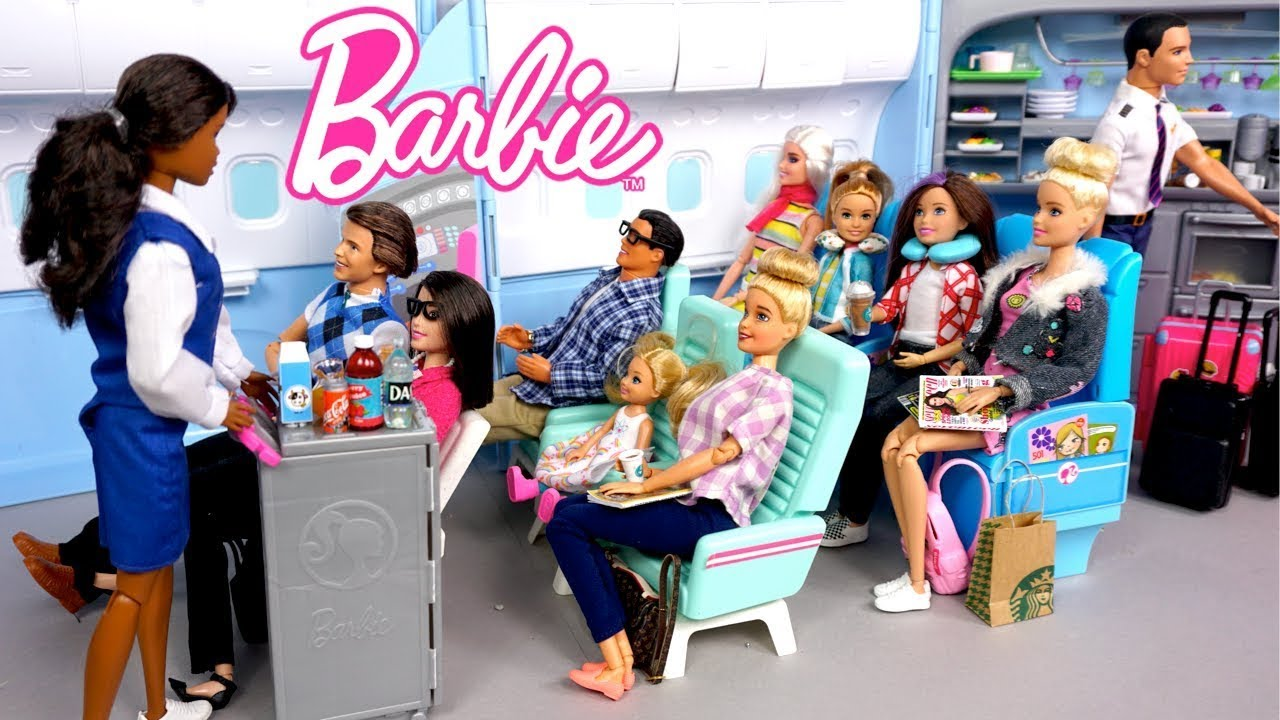 Barbie Dreamhouse Family Summer Vacation Adventure Story