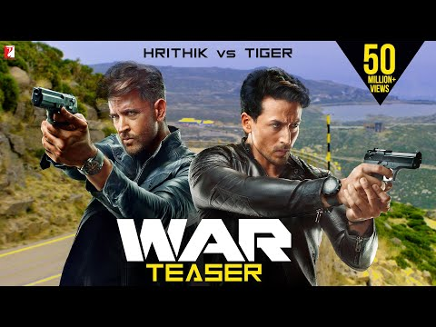 War Official Teaser Starring Hrithik Roshan, Tiger Shroff and Vaani Kapoor