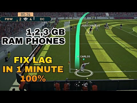 HOW TO FIX LAG IN PES 19 MOBILE || 1 MINUTE TUTORIAL || SMOOTH GAMEPLAY-  PES MOBILE