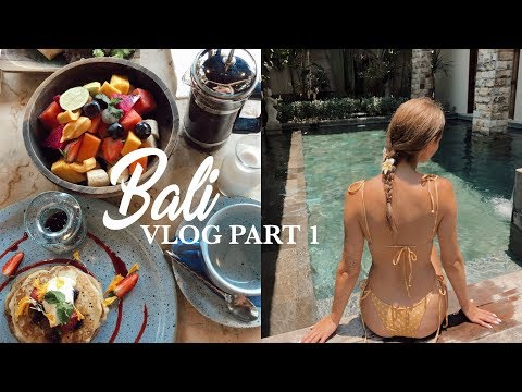 Welcome to Bali | Vlog Part 1 Canggu + Ubud