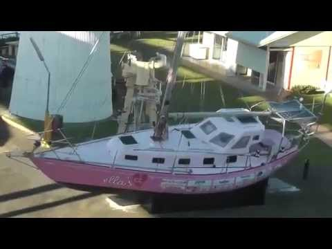 Visiting Ella's Pink Lady at Queensland Maritime Museum May 2012
