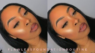 UPDATED FOUNDATION ROUTINE FOR OILY SKIN + USING ALL DRUGSTORE MAKEUP PRODUCTS!