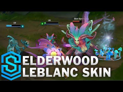 (OLD) Elderwood LeBlanc Skin Spotlight - League of Legends