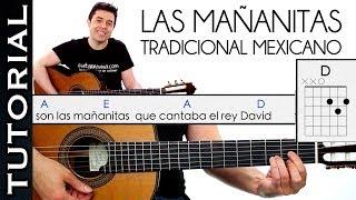 Como Tocar las Mañanitas Muy Fácil  acordes RANCHERA GUITARRA principiantes Mariachi thumbnail
