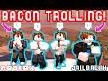 BACON GANG TROLLING IN JAILBREAK!! - Roblox Jailbreak Ft. MyUsernamesThis, JoeydaPlayer, Deejusgames