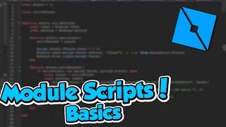 Roblox Studio :: Explaining ModuleScripts
