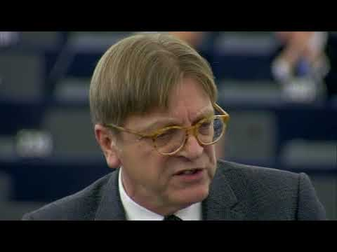 Guy Verhofstadt 13 Dec 2017 plenary speech on EU Council meeting of 14 15 Dec 2017