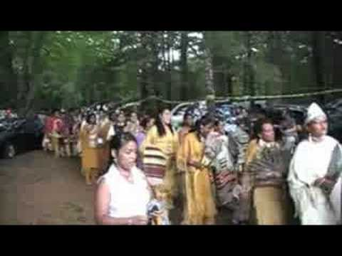 Narragansett Tribe August Meeting 2008 (Grand Entry)