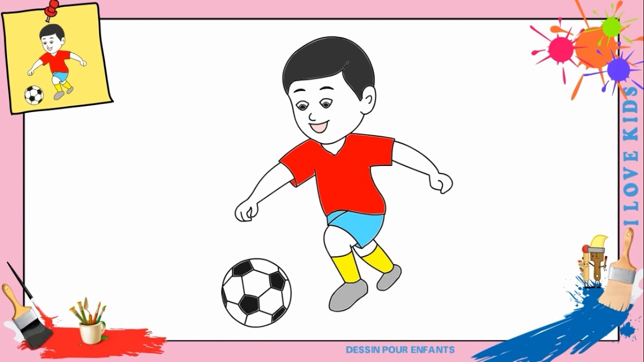 Dessin gar ons football comment dessiner gar ons football facilement pour enfants youtube - Comment dessiner les winx facilement ...