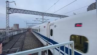 700系B編成ひかり441号@西明石駅