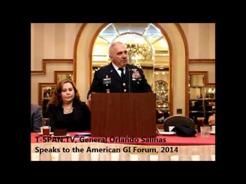 General Orlando Salinas Speaks To The 66 Annual American GI Forum