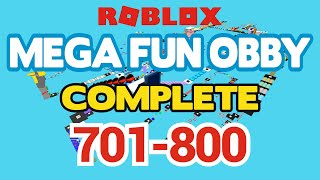ROBLOX - MEGA FUN OBBY COMPLETED - Stufe 701-800 (Durcharbeiten)