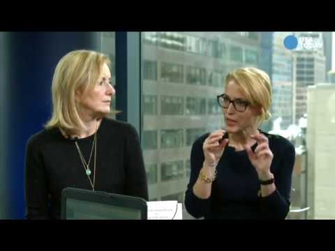 Gillian Anderson & Jennifer Nadel FB Live for USA Today Life