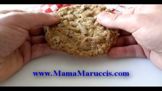 Mama Marucci's Chewy Oatmeal Cookies With, Tart Cherries, Toasted Pecans And Chocolate.avi