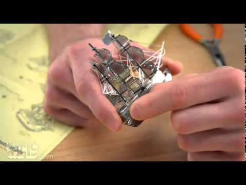 DIY metal model - challenge your ability