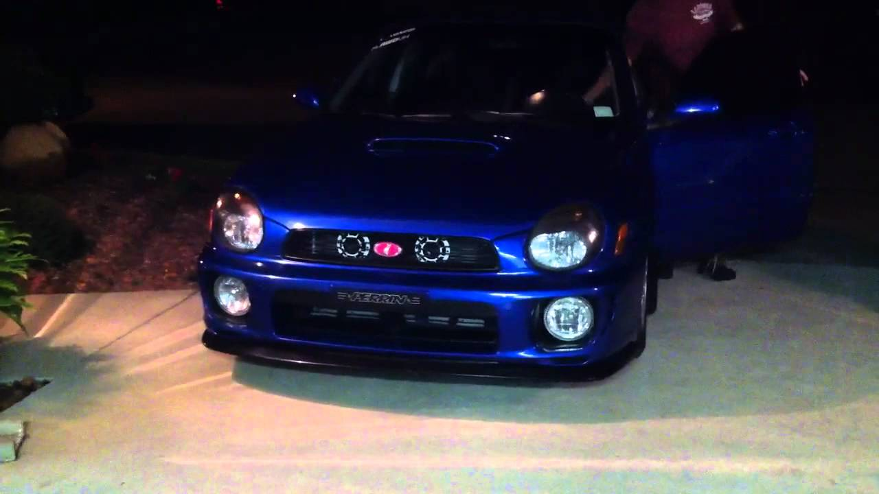 Wrx With Hella Supertone Horns