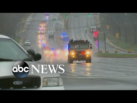 Officer Shot Outside a Police Station in Maryland