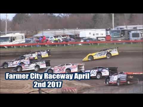 2017 Last Chance Races for the Illini 100 at Farmer City Raceway