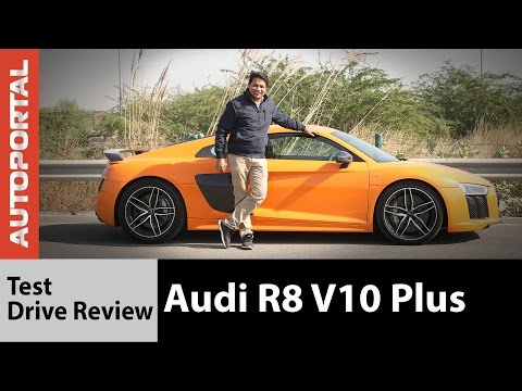 Audi R8 V10 Plus Test Drive Review - Autoportal